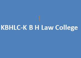 KBHLC-K B H Law College