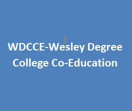 WDCCE-Wesley Degree College Co-Education