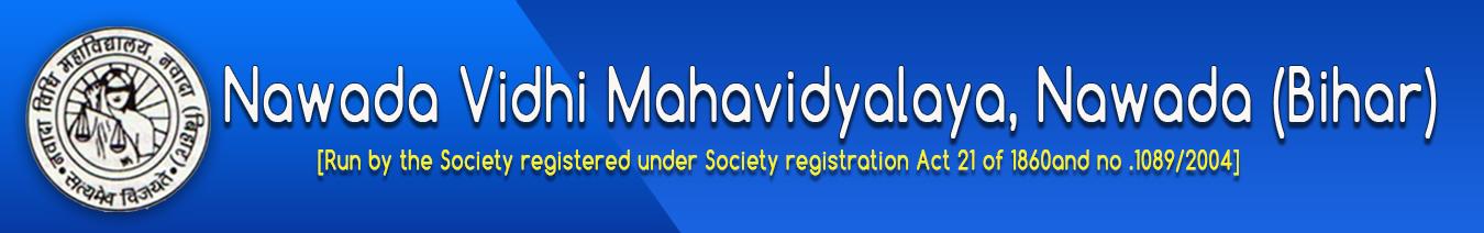 NVM-Nawada Vidhi Mahavidyalaya