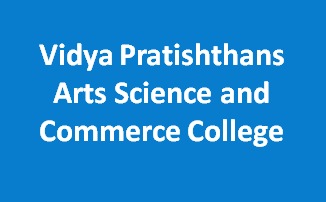 VPASCC-Vidya Pratishthans Arts Science and Commerce College