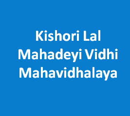 KLMVM-Kishori Lal Mahadeyi Vidhi Mahavidhalaya