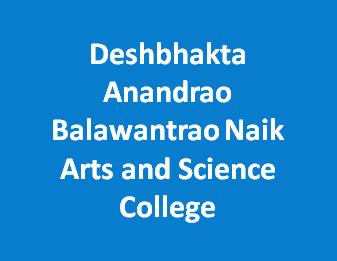 DABNASC-Deshbhakta Anandrao Balawantrao Naik Arts and Science College