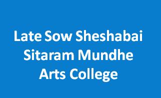 LSSSMAC-Late Sow Sheshabai Sitaram Mundhe Arts College