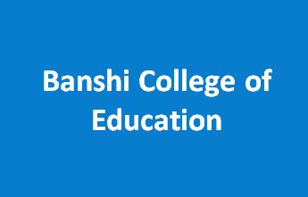 BCE-Banshi College of Education