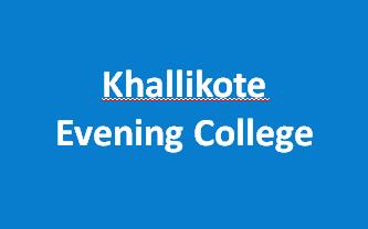 KEC-Khallikote Evening College