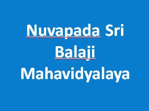 NSBM-Nuvapada Sri Balaji Mahavidyalaya