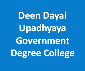 DDUGDC-Deen Dayal Upadhyaya Government Degree College
