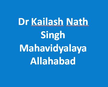 DKNSM-Dr Kailash Nath Singh Mahavidyalaya Allahabad