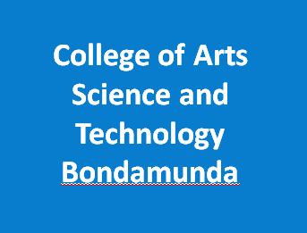 CASTB-College of Arts Science and Technology Bondamunda