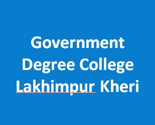 GDC-Government Degree College Lakhimpur Kheri