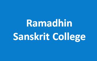 RSC-Ramadhin Sanskrit College