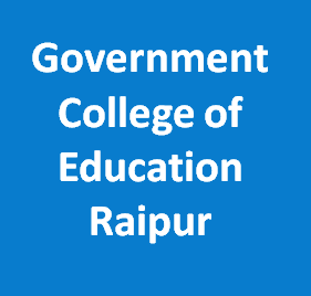 GCE-Government College of Education Raipur