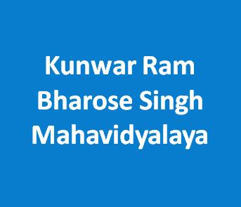 KRBSM-Kunwar Ram Bharose Singh Mahavidyalaya