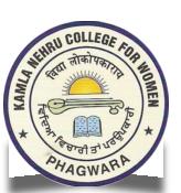 KNCWP-Kamla Nehru College For Women Phagwara