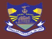 KCLA-Khalsa College of Law Amritsar