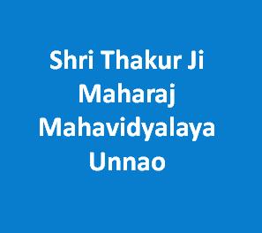 STJMM-Shri Thakur Ji Maharaj Mahavidyalaya Unnao