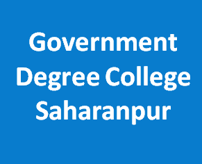 GDC-Government Degree College Saharanpur