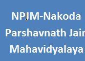 NPJM-Nakoda Parshavnath Jain Mahavidyalaya
