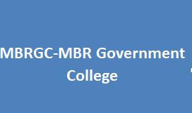 MBRGC-MBR Government College