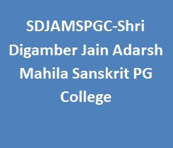 SDJAMSPGC-Shri Digamber Jain Adarsh Mahila Sanskrit PG College