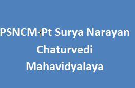 PSNCM-Pt Surya Narayan Chaturvedi Mahavidyalaya