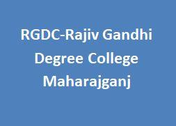 RGDC-Rajiv Gandhi Degree College Maharajganj