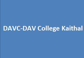 DAVC-DAV College Kaithal
