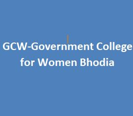 GCW-Government College for Women Bhodia