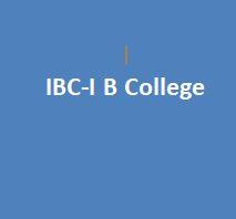 IBC-I B College