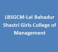 LBSGCM-Lal Bahadur Shastri Girls College of Management