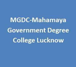 MGDC-Mahamaya Government Degree College Lucknow