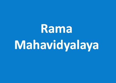 RM-Rama Mahavidyalaya