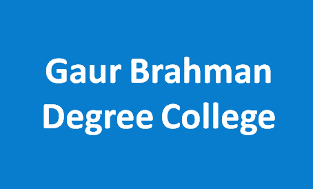 GBDC-Gaur Brahman Degree College
