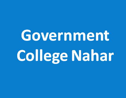 GC-Government College Nahar