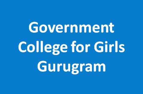 GCG-Government College for Girls Gurugram