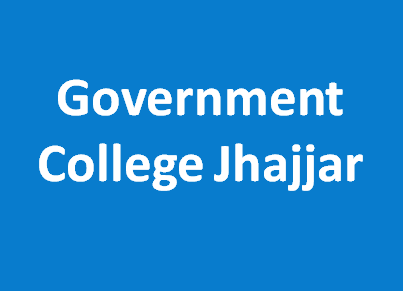 GC-Government College Jhajjar
