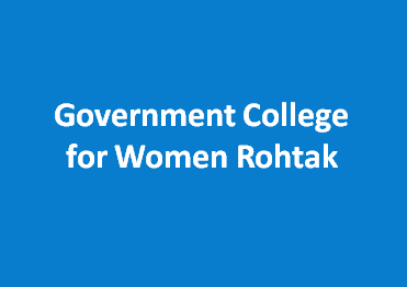 GCW-Government College for Women Rohtak