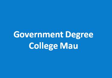 GDC-Government Degree College Mau