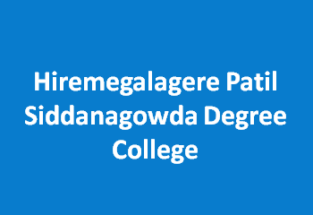 HPSDC-Hiremegalagere Patil Siddanagowda Degree College