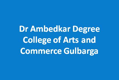 DADCAC-Dr Ambedkar Degree College of Arts and Commerce Gulbarga