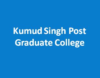 KSPGC-Kumud Singh Post Graduate College