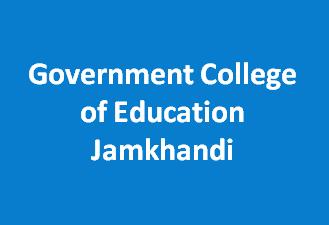 GCE-Government College of Education Jamkhandi