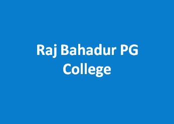 RBPGC-Raj Bahadur PG College