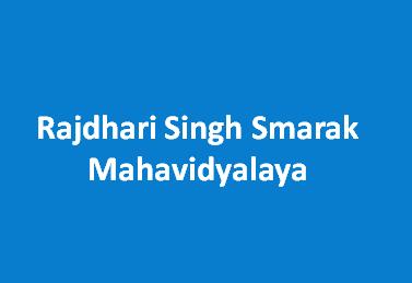 RSSM-Rajdhari Singh Smarak Mahavidyalaya