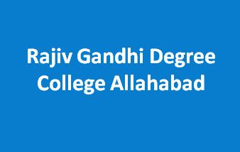 RGDC-Rajiv Gandhi Degree College Allahabd