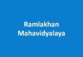 RM-Ramlakhan Mahavidyalaya