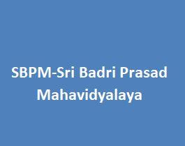 SBPM-Sri Badri Prasad Mahavidyalaya