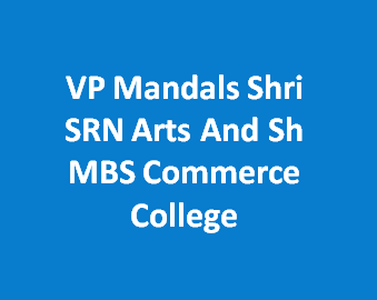 VPMSSRNASMBSCC-VP Mandals Shri SRN Arts And Sh MBS Commerce College