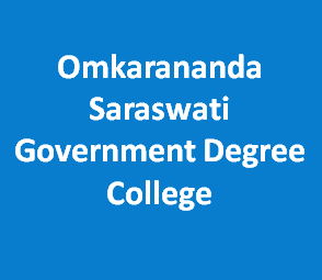 OSGDC-Omkarananda Saraswati Government Degree College
