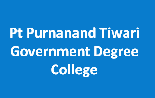 PPTGDC-Pt Purnanand Tiwari Government Degree College